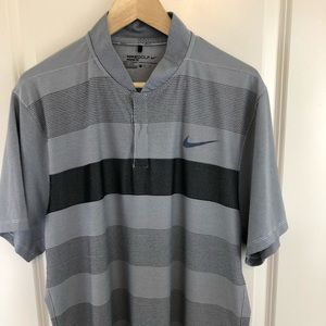 Nike Golf Modern Fit Striped Polo